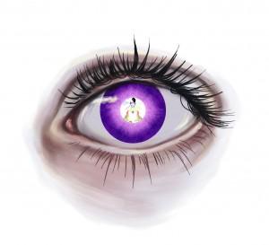 Das Auge bildet sie Situation nur ab.  Wahrnehmung unterliegt Ihrer Konditionierung.