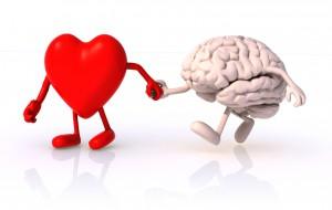 Das Herz geht voraus. Das Hirn ist immer mit dem Herzen verbunden
